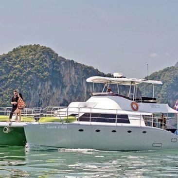 48ft Motor Catamaran Gallery